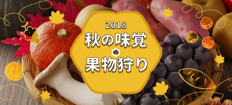 【2018年】秋の味覚・果物狩り特集!